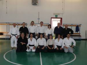 I partecipanti al seminario col Maestro Re